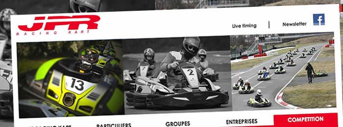 Refonte du site web du Racing Kart JPR