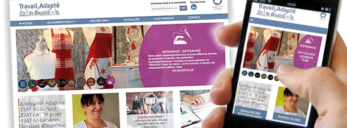 Le nouveau site RWD du Travail Adapté du Douaisis avec E SYSTEMES et Altitude