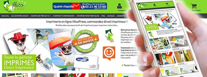 L'imprimerie en ligne publie la V4 de son site web e-commerce