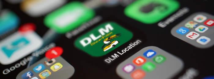 iOS Phone App DLM Location